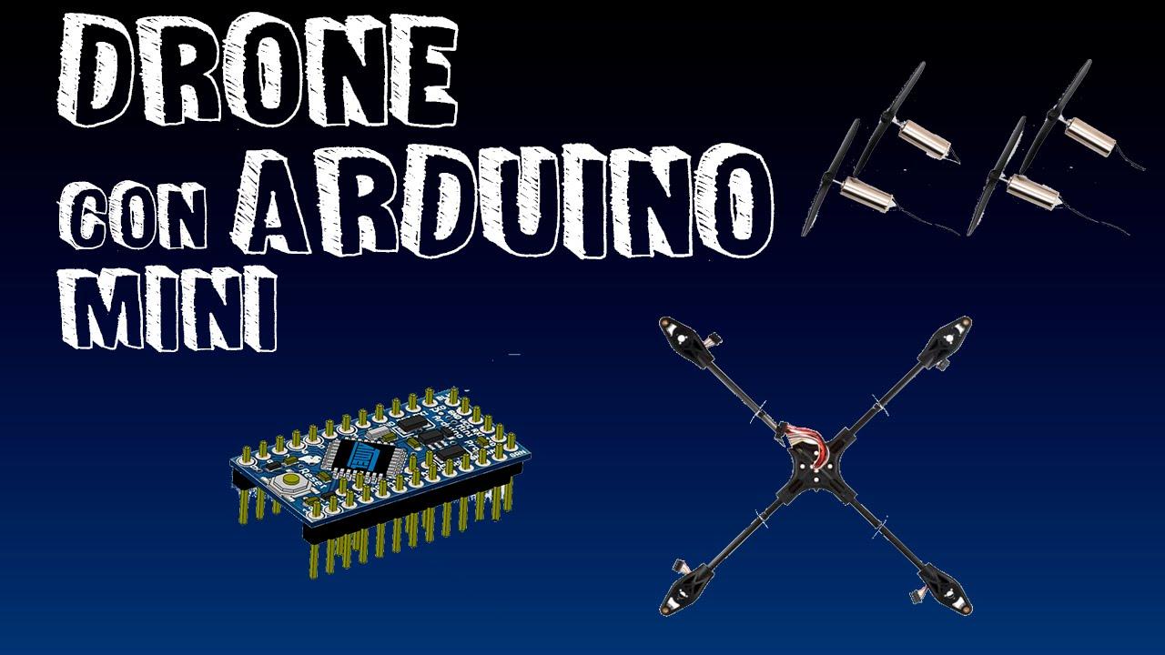 Drone con arduino mini banco de prueba youtube