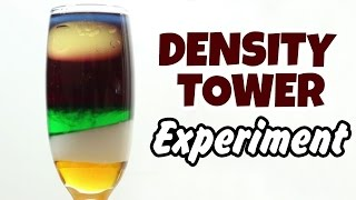 DIY Easy Science Experiment | Amazing Science Experiments |  Density Tower Experiment