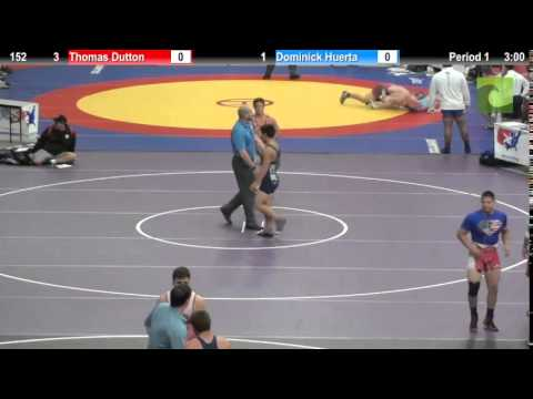 152 Thomas Dutton vs. Dominick Huerta