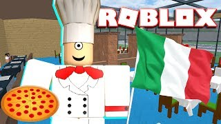 THE BEST ITALIAN RESTAURANT IN ROBLOX TOWN IS COMPLETE!!! | MicroGuardian