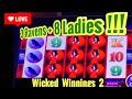 Wicked Winnings 2 -*MAX BET* - *HUGE WIN* - Slot Machine ...