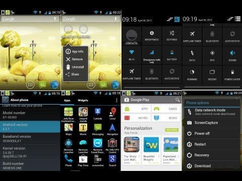 Installing Nemesis (JellyBean 4.2.1) Custom Rom on Samsung Galaxy Y