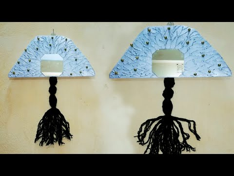 Woolen Wall Hanging Craft Ideas | best out of waste woolen craft idea | Easy Wall Hanging with Wool