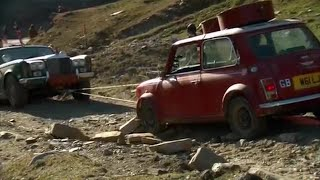 A Mini winches a Rolls | Top Gear Christmas Special 2011 | BBC