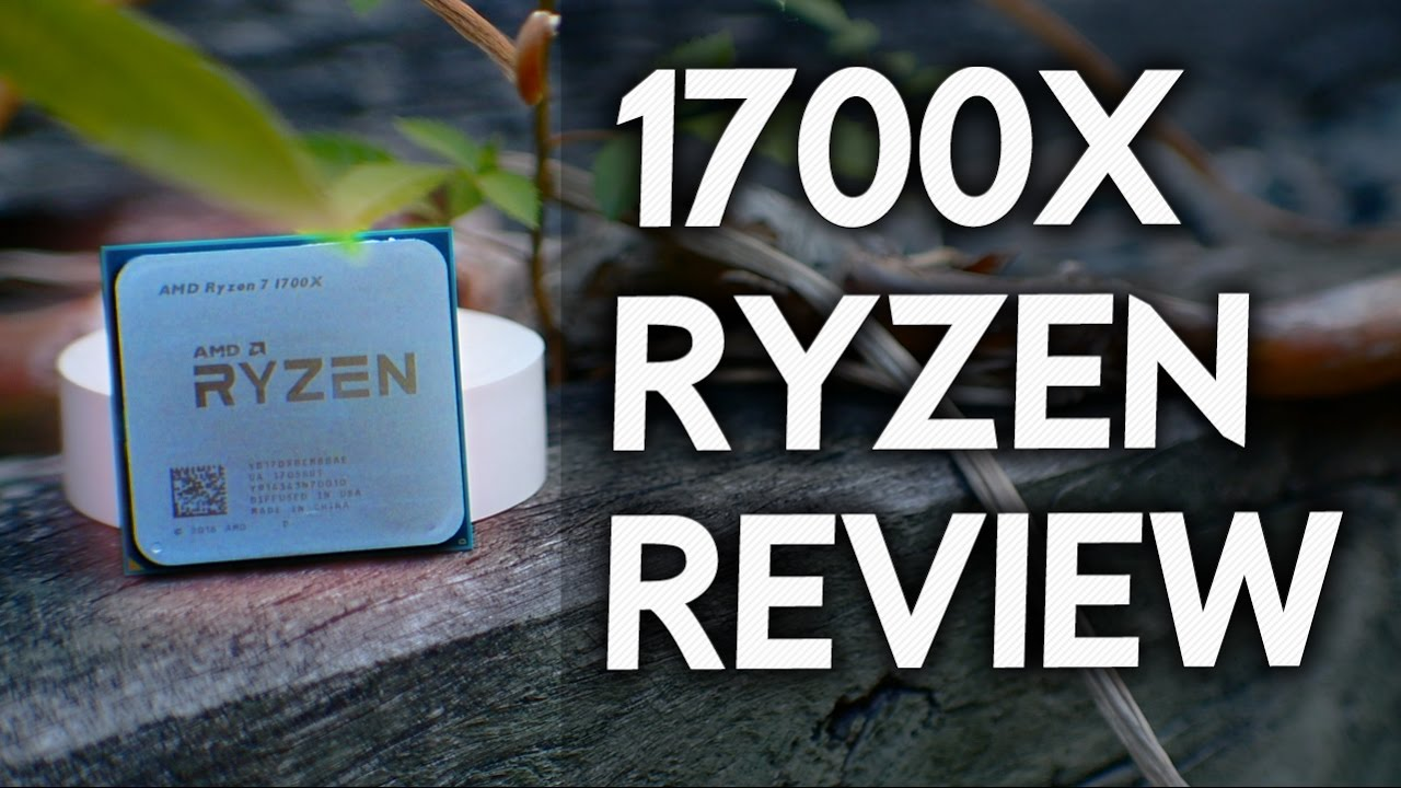 Amd Ryzen R7 1700x Review Gaming Productivity Overclocked