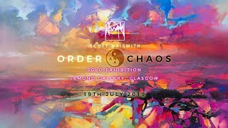 Order and Chaos Solo exhibition screenshot 2