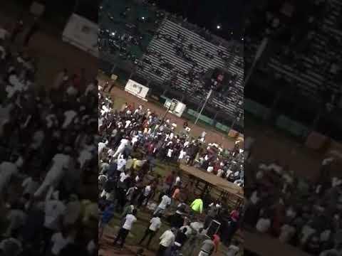 Kao Denero en Run Town Performance in Freetown