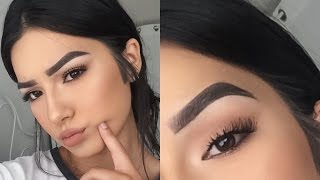 My Updated Eyebrow Routine! | Faye Claire