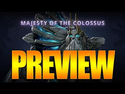 Dota 2 Tiny Prestige Item - Spotlight - Majesty of the Colossus