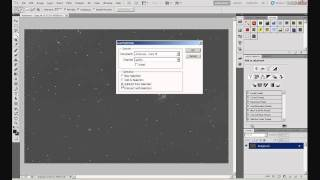 Astrophotography: Basic Processing in Photoshop. Part 2 - Gradient Removal Using GradientXTerminator