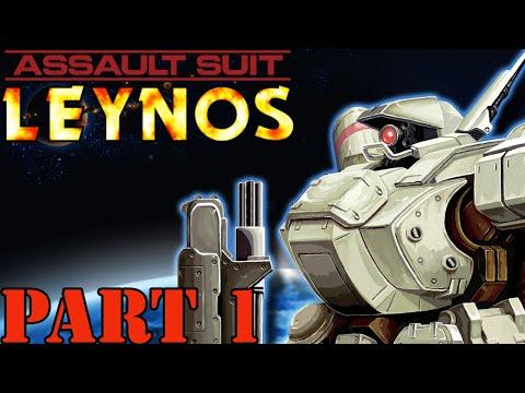 Game Eagle X Plays: Assault Suit Leynos - Part 1: Raid on Ganymede |
