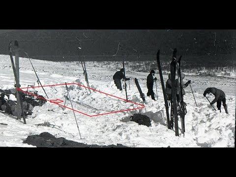Группа Дятлова. Итоговое видео про палатку на склоне