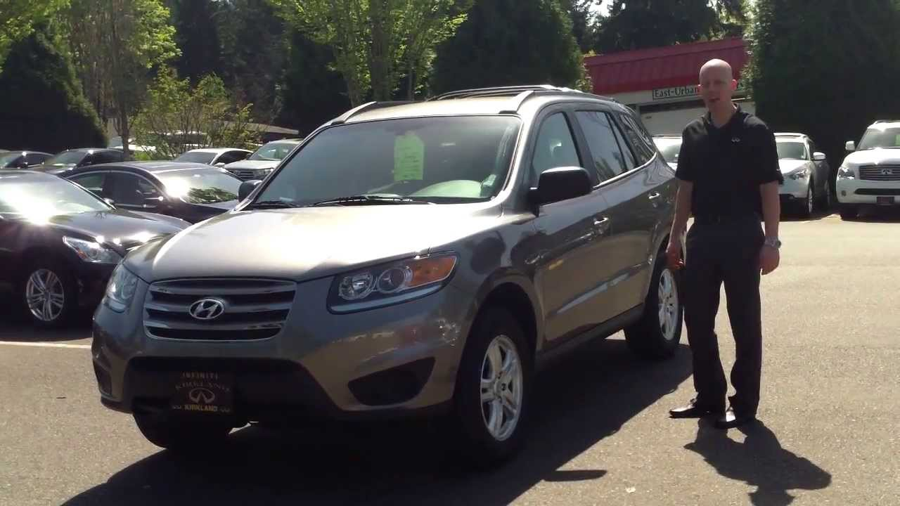 2012 hyundai santa fe gls awd review in 3 minutes you ll be an expert on the 2012 santa fe youtube