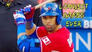 MLB Longest Inning Games Ever