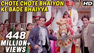 Gambar cover Chote Chote Bhaiyon Ke Bade Bhaiyya - Hum Saath Saath Hain - Bollywood Wedding Song
