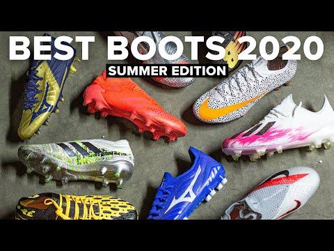 TOP 10 FOOTBALL BOOTS 2020 SUMMER EDITION