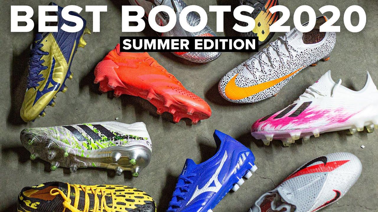 TOP 10 FOOTBALL BOOTS 2020 - SUMMER EDITION