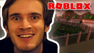 PEWDIEPIE IS GOING TO PLAY MORE ROBLOX!?!
