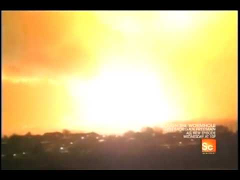 Download Fireworks factory on fire