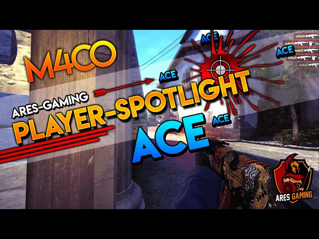 Player-Spotlight: m4cO AK-47 ACE on DE_INFERNO CS:GO  by ares-gaming