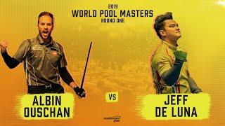 Albin Ouschan vs Jeff De Luna | 2019 World Pool Masters
