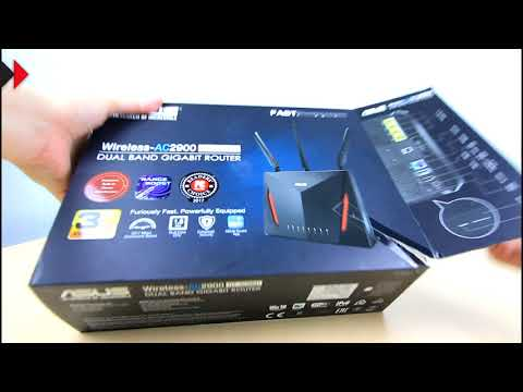 ASUS RT-AC86U Wireless-AC2900 Review - featuring AiMesh for