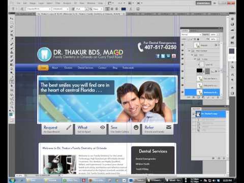 PSD To HTML Bangla Tutorial