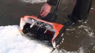 Снегоуборщик электрический электролопата Texas ST1500 Садовые Механизмы смотреть