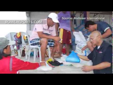 Order of Malta disaster aid focused on 'neglected' victims in Philippines
