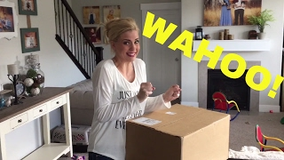 MOM GETS AN EXCITING SHIPMENT!