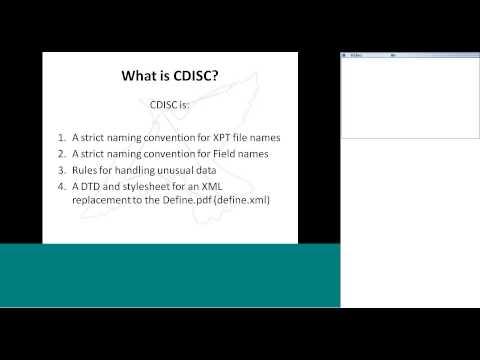 CDISC - The FDA's Data Standard