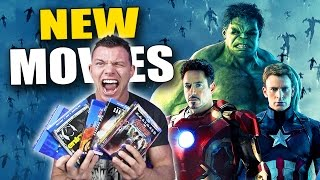 New BLU-RAY Movies!