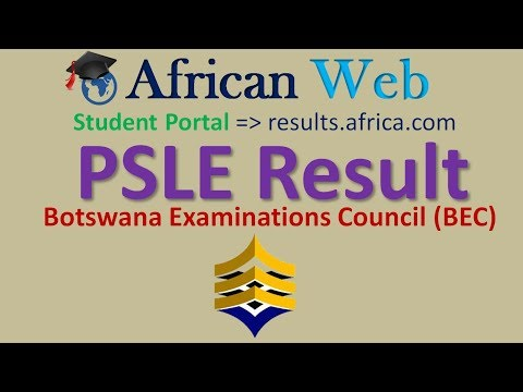 PSLE Results 2017 Botswana- How to check online