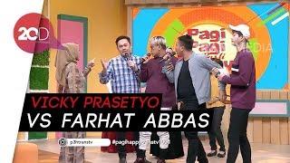 Ribut dengan Vicky Prasetyo, Farhat Abbas Lapor Polisi!