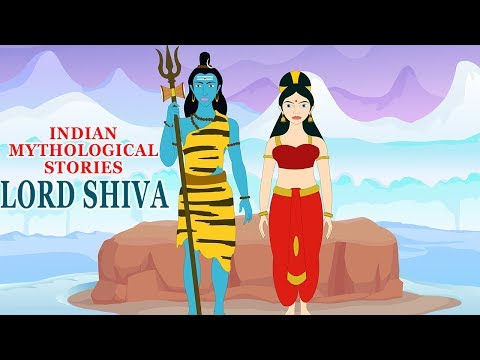 Indian Mythological Stories - Hindu Mythology - Popular Stories of Lord Shiva & Parvati - Cartoons