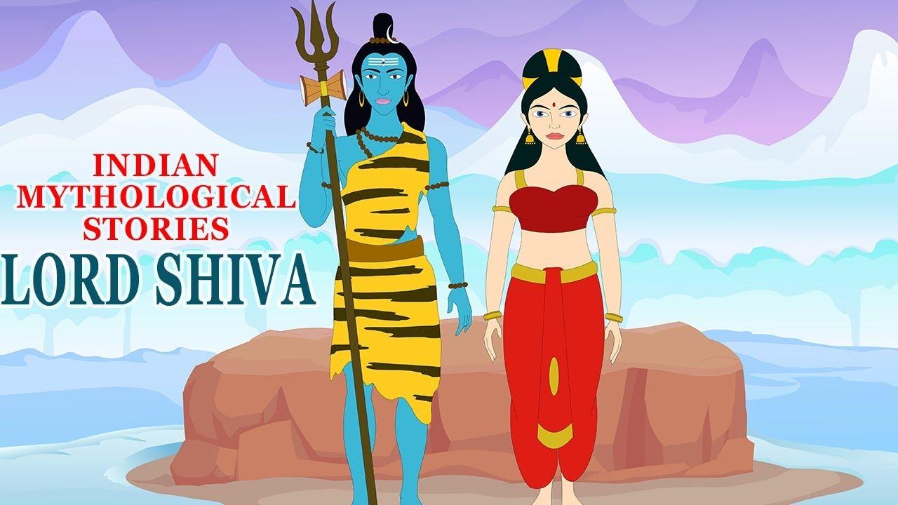 Indian Mythological Stories - Hindu Mythology - Popular Stories of Lord  Shiva & Parvati - Cartoons - YouTube
