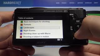 How to Open User Tips on SONY Alpha A5000 - How to Shoot Better Photos on Sony Mirrorless Camera