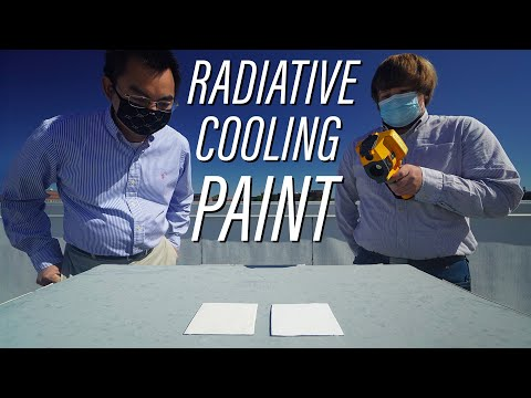 Radiative Cooling Paint