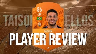 FIFA 19 - MOTM TAISON (86) PLAYER REVIEW