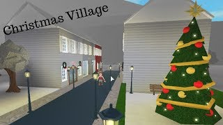 Christmas Village-Roblox Bloxburg