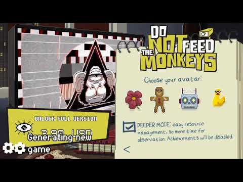 Do Not Feed the Monkeys. iOS Gameplay. Launch Video.