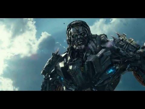 Optimus vs. Galvatron & Lockdown Scene HD 1080p - YouTube