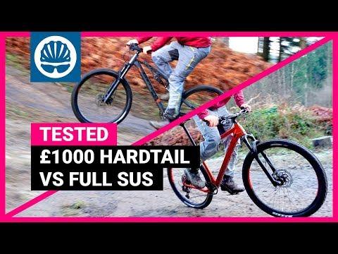 Hardtail Vs Full Suspension MTB | £1000 Bike Head-to-Head