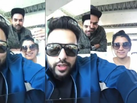 Badshah, Aastha Gill, Gurinder rai Live Masti