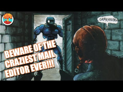 The Craziest Game Magazine Mail Editors - Defunct Games
