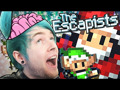 The Escapists | INTELLIGENCE LEVEL 100!! #7