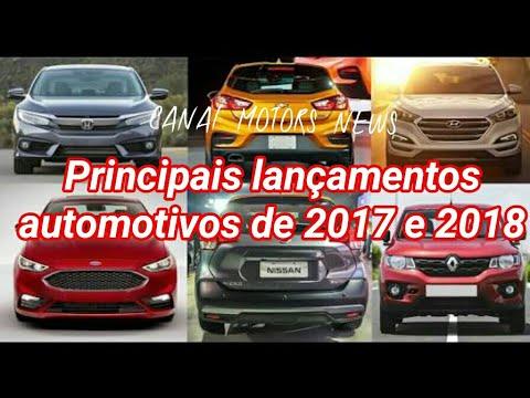 OS LANÇAMENTOS AUTOMOTIVOS ESPERADOS PARA 2017 E 2018