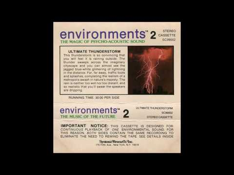 """Irving Soloman """"Irv"""" Teibel – Environments 2: Ultimate Thunderstorm (1979)"""
