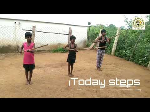 Silambam basic steps with simple method..chapter.1