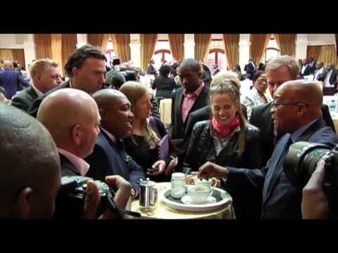 President Jacob Zuma meets with editors, bureau chiefs and political editors